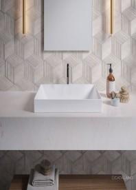 Раковина для ванной накладная Catalano Zero 45х35 керамическая цвет белый 14535ZE00