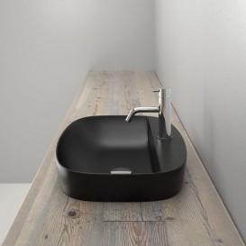 Раковина для ванной накладная Catalano Colori 65х42 керамика цвет черный поверхность сатин 165GRLXNNS