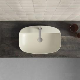 Раковина для ванной накладная Catalano Colori 60х40 керамика цвет серый поверхность сатин 160GRLXNGS