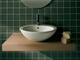 Раковина для ванной накладная Hatria HAPPY HOUR 02:00 475x475 Y0M601