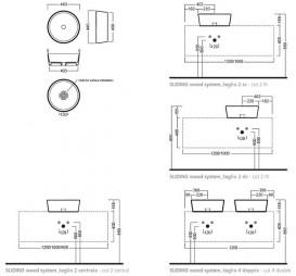 Раковина для ванной накладная Hatria HAPPY HOUR SLIM_Alchemy TOBACCO 440x440 A0Y1VG29
