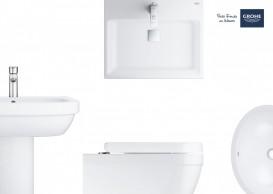 Раковина для ванной подвесная Grohe Cube Ceramic 60 см альпин-белый 3947300H