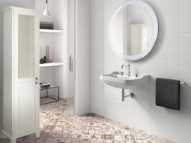 Раковина для ванной подвесная Roca Carmen 65х48 с 3 отверстиями под смеситель керамика белая A3270A1003