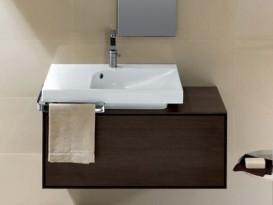 Раковина для ванной встраиваемая правая Hatria GRANDANGOLO 75х50 см YXET01