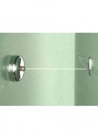 Раздвижная сушилка для одежды Roca Hotels настенная хром A815493001