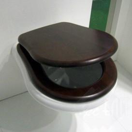 Сиденье с крышкой для унитаза Kerasan Retro с микролифтом орех 108640