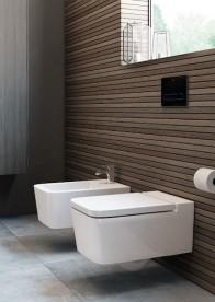 Сиденье с крышкой для унитаза Roca Inspira Square Soft Close SUPRALIT® белый A80153200B