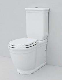 Сливной бачок для унитаза-моноблок ArtCeram Hermitage белый глянцевый HEC009 01;00