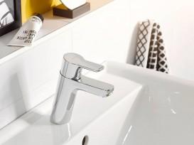 Смеситель для раковины Kludi Pure&Easy однорычажный для безнапорных водонагревателей 372750565
