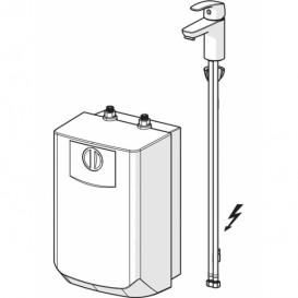 Смеситель для раковины однорычажный Oras Safira  c бойлером 1003F