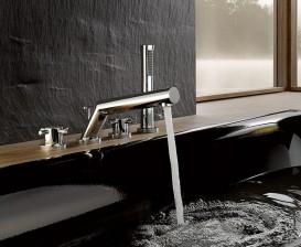 Смеситель для ванны и душа Kludi BOZZ двухвентильный хром 384240520