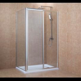 Стенка боковая для душевого уголка Eger 90x195 см для комплектации с дверьми 599-153 (h) прозрачное стекло 599-153-90W(h)