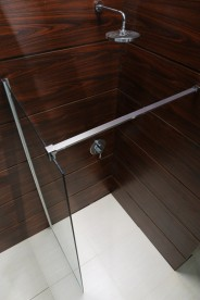 Стенка боковая для душевого уголка Volle Walk-In 100х200 см прозрачное стекло 18-08-100H