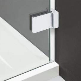 Стенка душевая боковая Radaway Euphoria Walk-in III W2 80 хром прозрачное стекло 383120-01-01