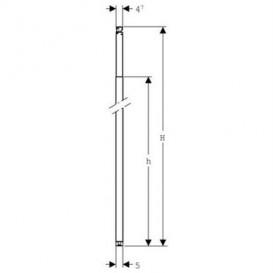Стойка Geberit Duofix по высоте помещения 260-320 см сталь 111.872.00.1