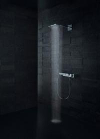Термостат для душа Hansgrohe Axor Edge 3 потребителя с алмазной огранкой 46141000