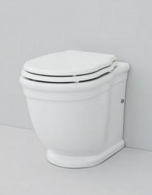 Унитаз напольный ArtCeram Hermitage 36х55 см белый глянцевый HEV005 01;00