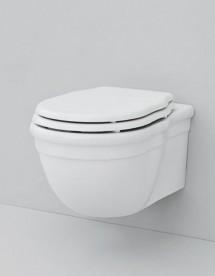 Унитаз подвесной ArtCeram Hermitage 36х55 см белый глянцевый HEV010 01;00