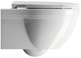 Унитаз подвесной безободковый GSI Classic без скрытого крепежа (с установкой снизу) 8712 11