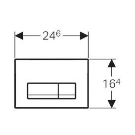 Унитаз подвесной Kolo Modo Pure Rimfree с сидением инсталляцией Geberit Duofix Delta и клавишей смыва Delta 11 L33123000 + L30115000 + 458.126.00.1 + 115.120.11.1