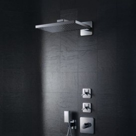 Верхний душ Hansgrohe Axor ShowerSolutions 1jet с держателем хром 35274000
