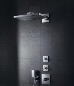 Верхний душ Hansgrohe Axor ShowerSolutions 2jet с держателем хром 35275000