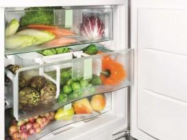 Встраиваемый под столешницу однокамерный холодильник Liebherr SUIB 1550 Premium BioFresh сталь белый SUIB 1550-21 001