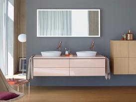 Зеркало для ванной Duravit L-Cube 120х70 см с подсветкой LC738300000